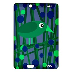 Green and blue bird Amazon Kindle Fire HD (2013) Hardshell Case
