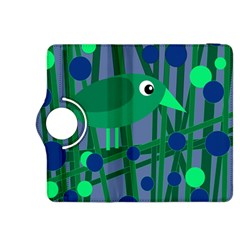 Green and blue bird Kindle Fire HDX 8.9  Flip 360 Case