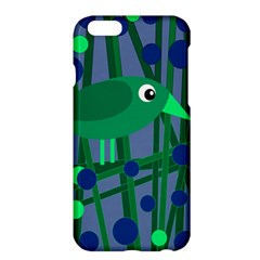 Green and blue bird Apple iPhone 6 Plus/6S Plus Hardshell Case