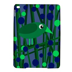 Green and blue bird iPad Air 2 Hardshell Cases