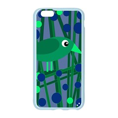 Green and blue bird Apple Seamless iPhone 6/6S Case (Color)