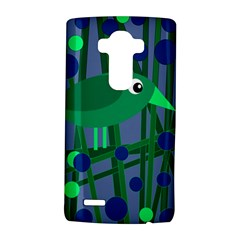 Green and blue bird LG G4 Hardshell Case