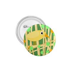 Yellow little bird 1.75  Buttons