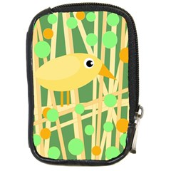 Yellow little bird Compact Camera Cases