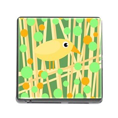 Yellow little bird Memory Card Reader (Square)