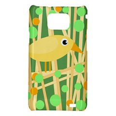 Yellow little bird Samsung Galaxy S2 i9100 Hardshell Case