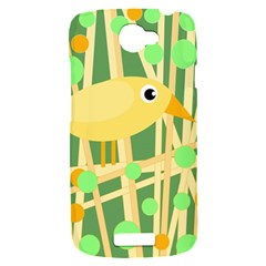 Yellow little bird HTC One S Hardshell Case