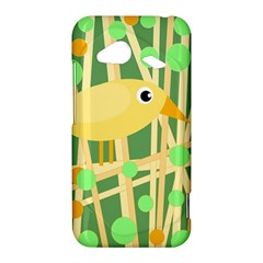 Yellow little bird HTC Droid Incredible 4G LTE Hardshell Case