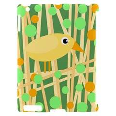 Yellow little bird Apple iPad 2 Hardshell Case (Compatible with Smart Cover)
