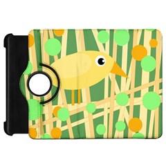 Yellow little bird Kindle Fire HD Flip 360 Case