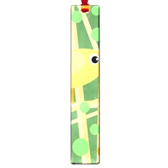 Yellow little bird Large Book Marks