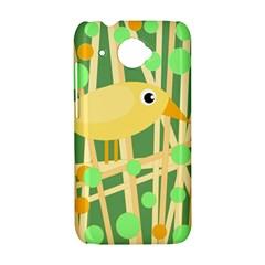 Yellow little bird HTC Desire 601 Hardshell Case
