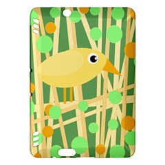 Yellow little bird Kindle Fire HDX Hardshell Case