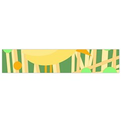 Yellow little bird Flano Scarf (Small)