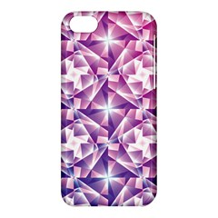 Purple Shatter Geometric Pattern Apple iPhone 5C Hardshell Case
