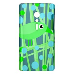 Green bird Sony Xperia ion