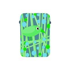 Green bird Apple iPad Mini Protective Soft Cases
