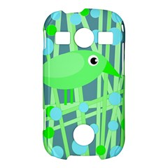 Green bird Samsung Galaxy S7710 Xcover 2 Hardshell Case