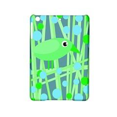 Green bird iPad Mini 2 Hardshell Cases
