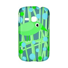 Green bird Samsung Galaxy S6310 Hardshell Case