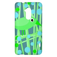 Green bird HTC One Max (T6) Hardshell Case