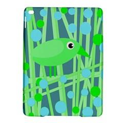 Green bird iPad Air 2 Hardshell Cases