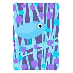 Blue and purple bird Samsung Galaxy Tab 10.1  P7500 Hardshell Case