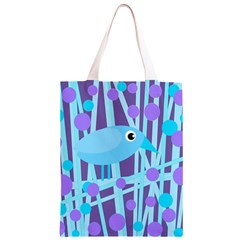 Blue and purple bird Classic Light Tote Bag