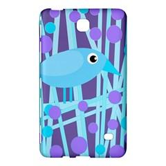 Blue and purple bird Samsung Galaxy Tab 4 (7 ) Hardshell Case
