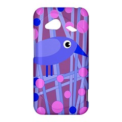 Purple and blue bird HTC Droid Incredible 4G LTE Hardshell Case