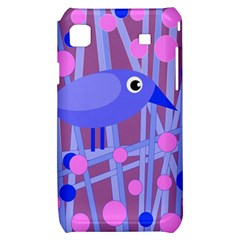 Purple and blue bird Samsung Galaxy S i9000 Hardshell Case