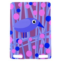 Purple and blue bird Kindle Touch 3G