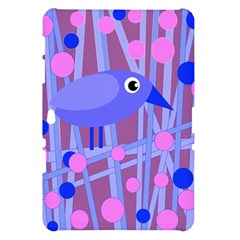 Purple and blue bird Samsung Galaxy Tab 10.1  P7500 Hardshell Case