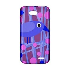 Purple and blue bird LG L90 D410