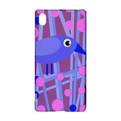 Purple And Blue Bird Sony Xperia Z3+