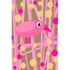 Pink bird 5.5  x 8.5  Notebooks