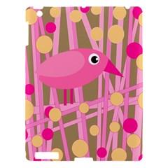 Pink bird Apple iPad 3/4 Hardshell Case