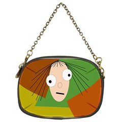 Crazy girl Chain Purses (Two Sides)
