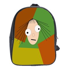Crazy girl School Bags(Large)