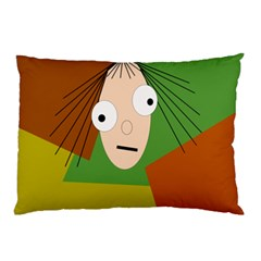 Crazy girl Pillow Case (Two Sides)