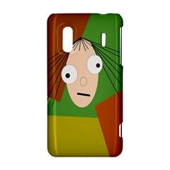 Crazy girl HTC Evo Design 4G/ Hero S Hardshell Case