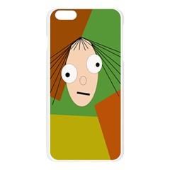 Crazy girl Apple Seamless iPhone 6 Plus/6S Plus Case (Transparent)