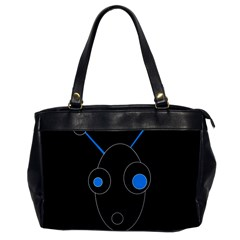 Blue alien Office Handbags