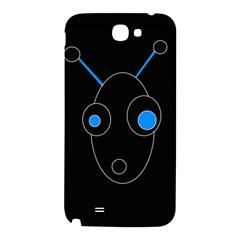 Blue alien Samsung Note 2 N7100 Hardshell Back Case