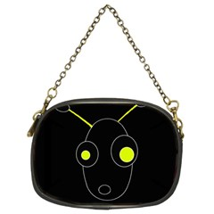 Yellow alien Chain Purses (Two Sides)
