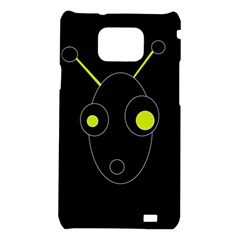 Yellow alien Samsung Galaxy S2 i9100 Hardshell Case