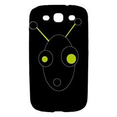 Yellow alien Samsung Galaxy S III Hardshell Case