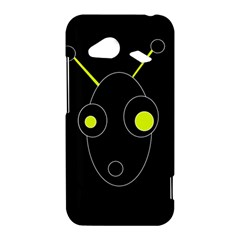 Yellow alien HTC Droid Incredible 4G LTE Hardshell Case