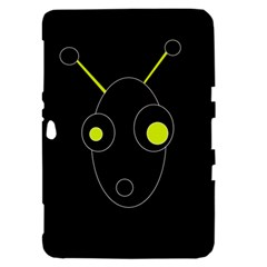 Yellow alien Samsung Galaxy Tab 8.9  P7300 Hardshell Case