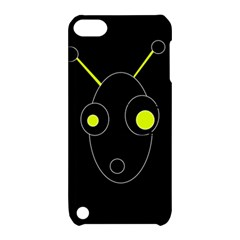 Yellow alien Apple iPod Touch 5 Hardshell Case with Stand